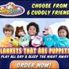 Cuddle Uppets Hot New Blanket Puppet for Kids Picture